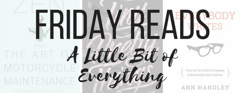 Friday Reads 8.12.16